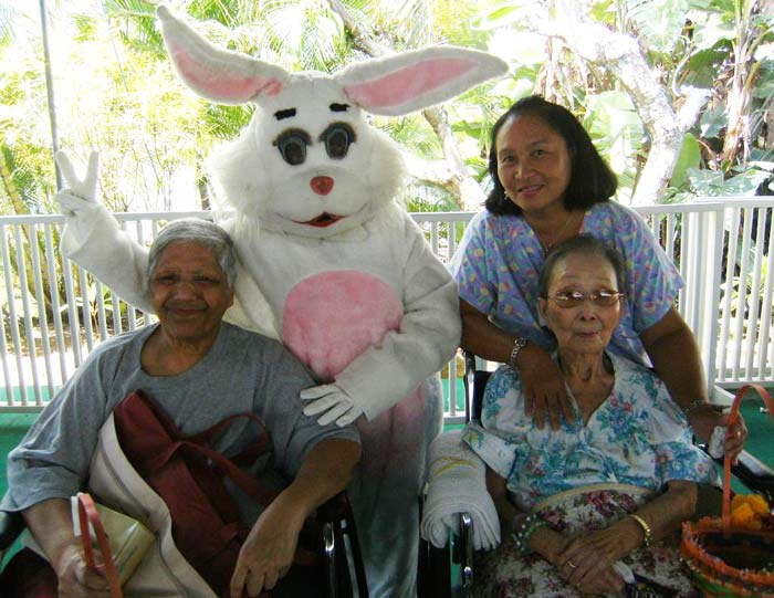 Residents enjoy Easter at The Care Center of Honolulu