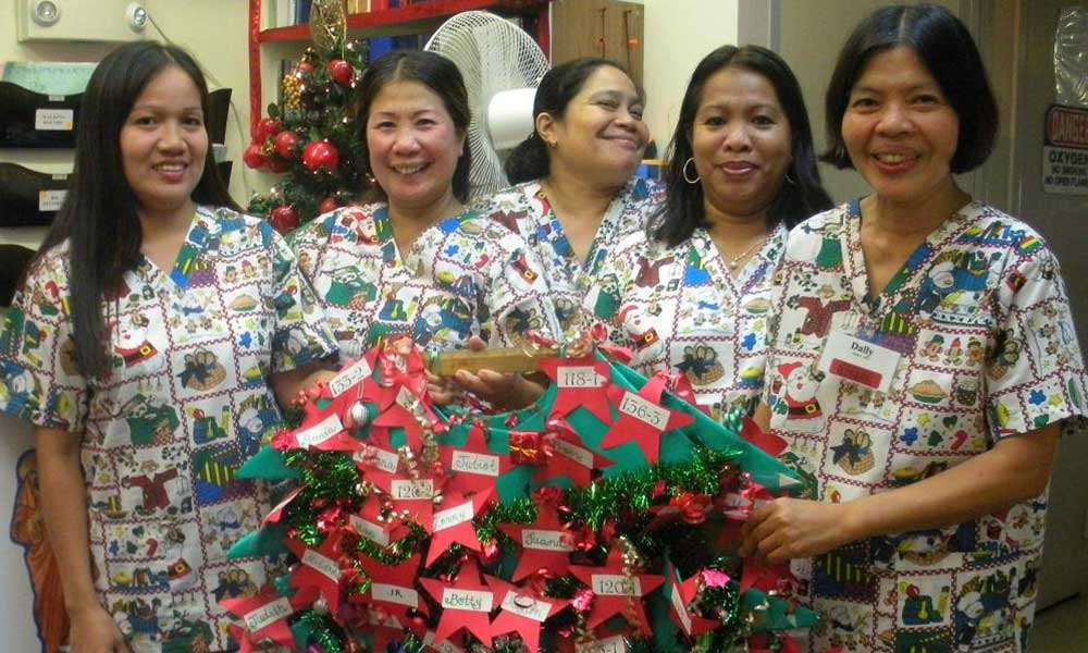 Happy Holidays from The Care Center of Honolulu