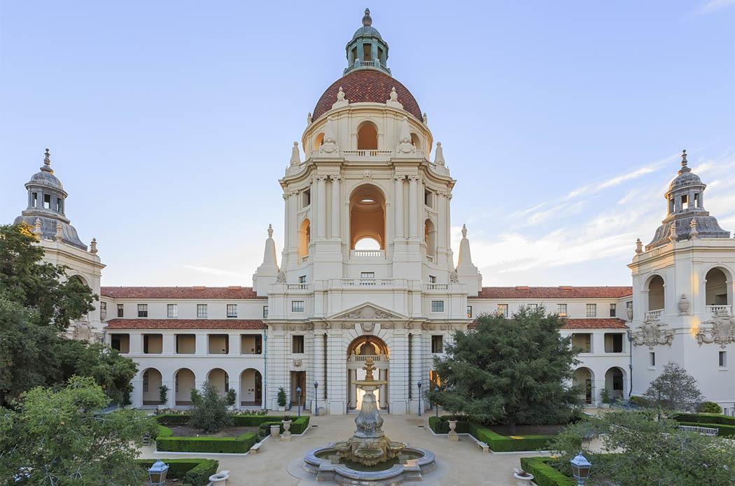 Beautiful building in Pasadena