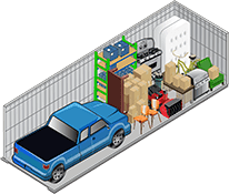 I-205 Mini Storage's 10x30 storage unit