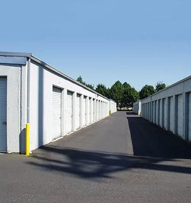 Self storage units at our facility in Vancouver