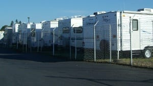 RV storage in Vancouver