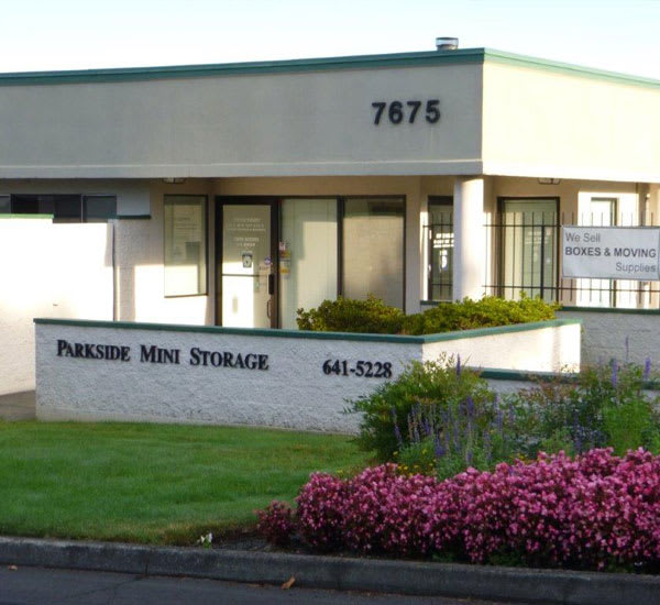 Self storage units at our facility in Beaverton