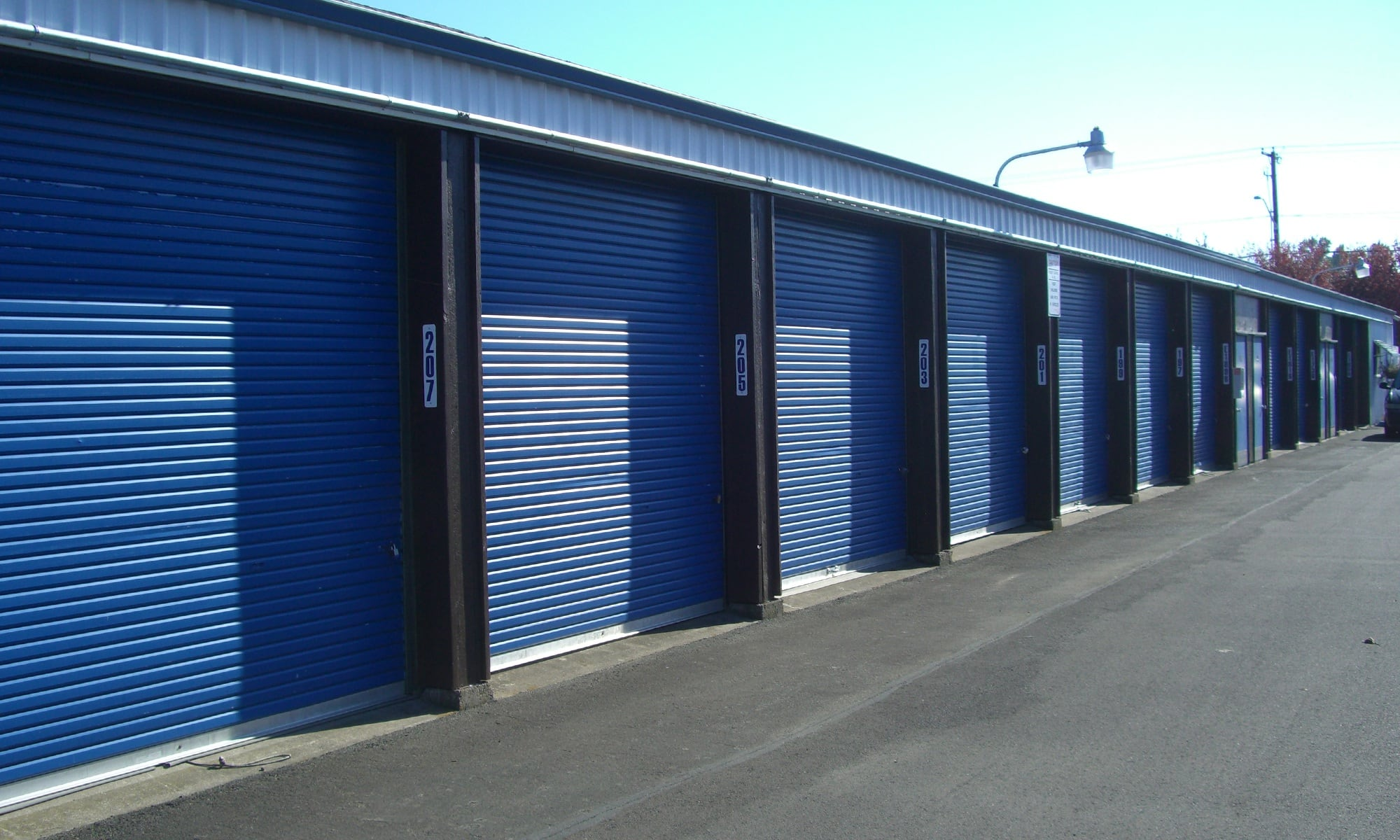 Self storage in Albany OR