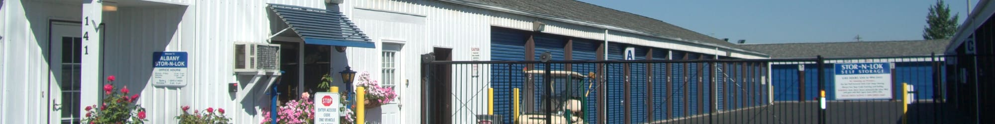 Find out what our storage units in Albany have to offer
