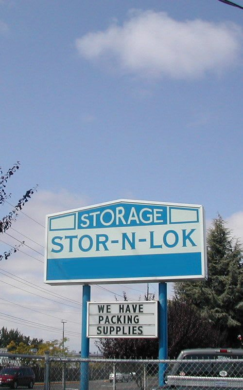 Storage features in Albany