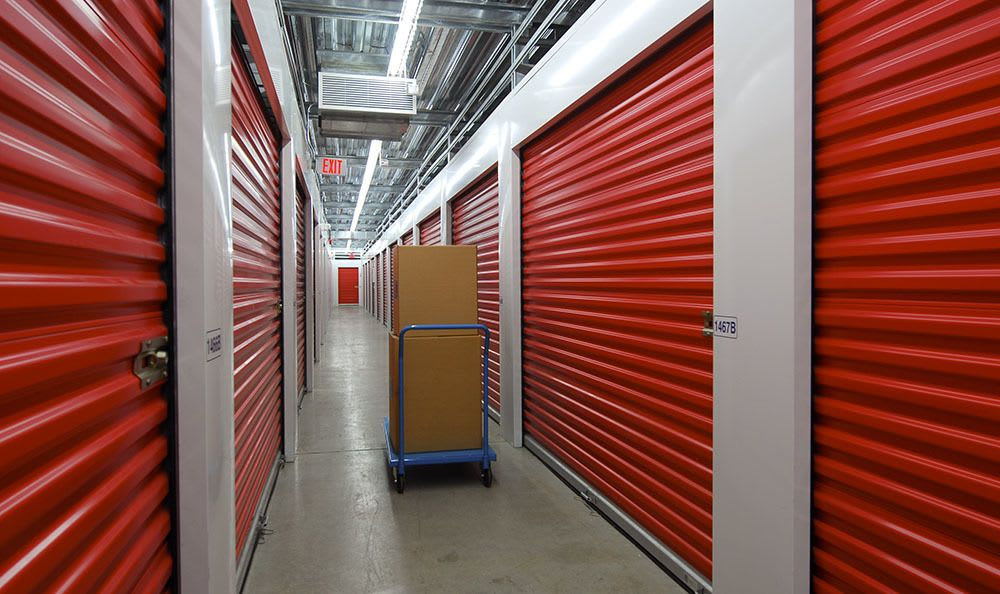 Spacious self storage units in Surrey