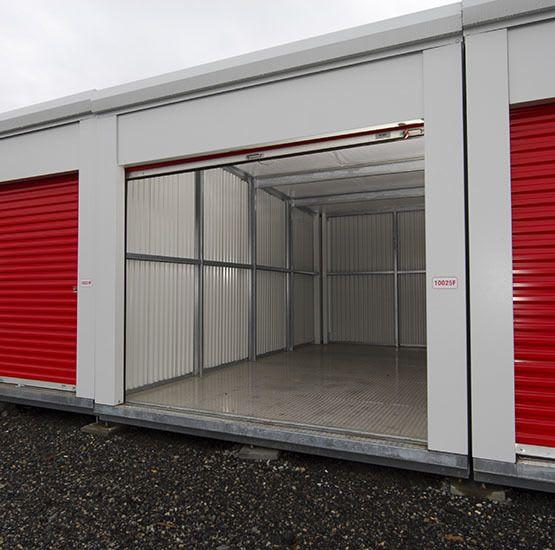 Individual units at Nanaimo self storage
