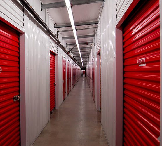 Interior Chilliwack self storage units