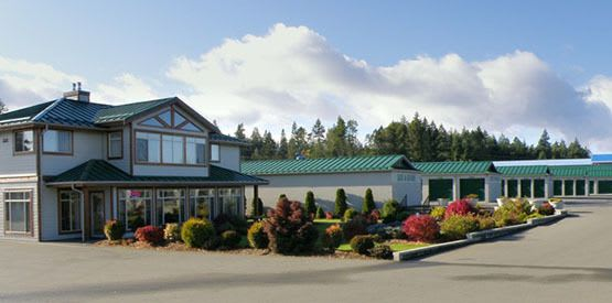 Security features at Parksville self storage