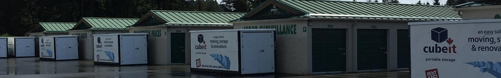 Find out what our storage units in Parksville have to offer