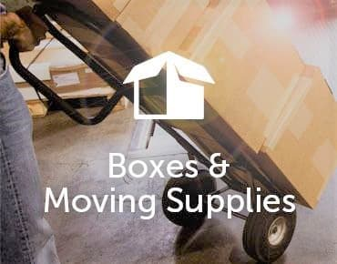 boxes and moving supplies at GoodFriend Self Storage