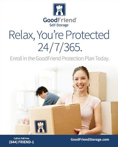 security features at GoodFriend Self Storage East Hampton