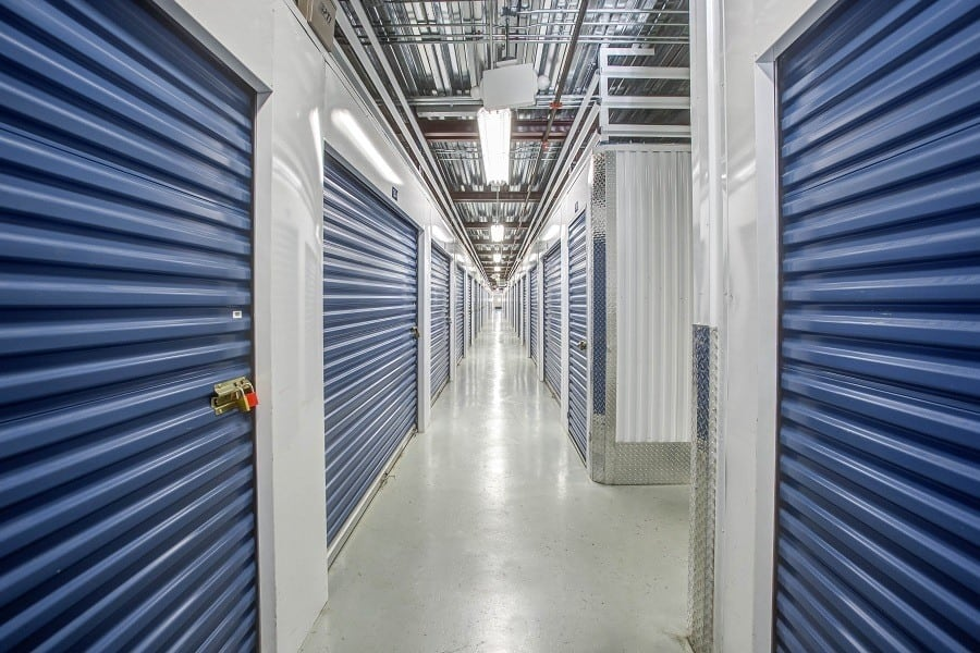 Hallways at GoodFriend Self Storage New Hyde Park in New Hyde Park, New York