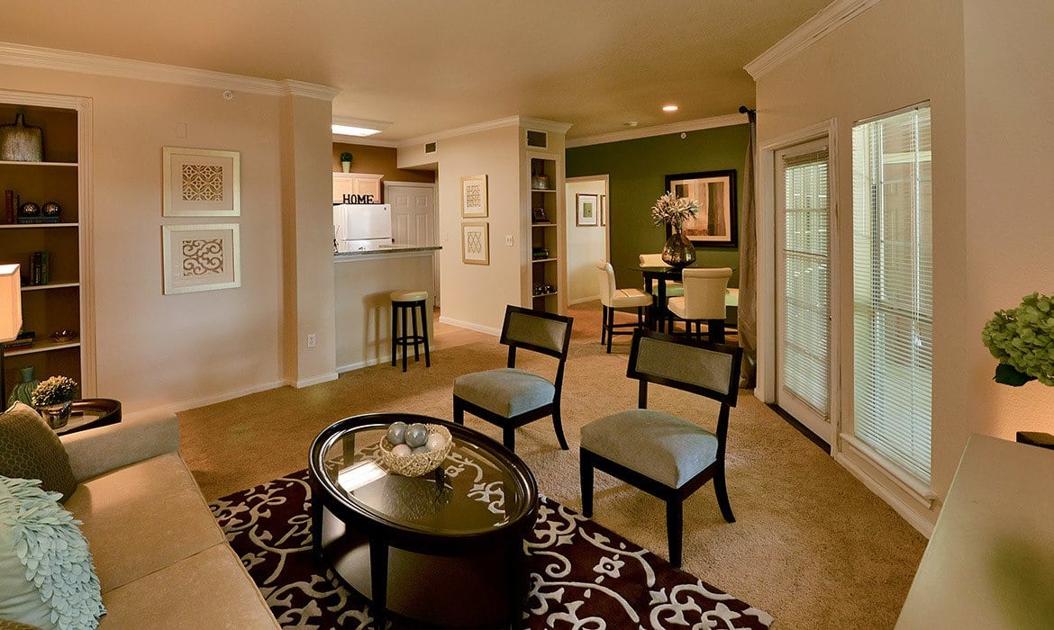 Make your living space your own at Bentley Place at Willow Bend; our spacious luxury apartments have plenty of room here in Plano.