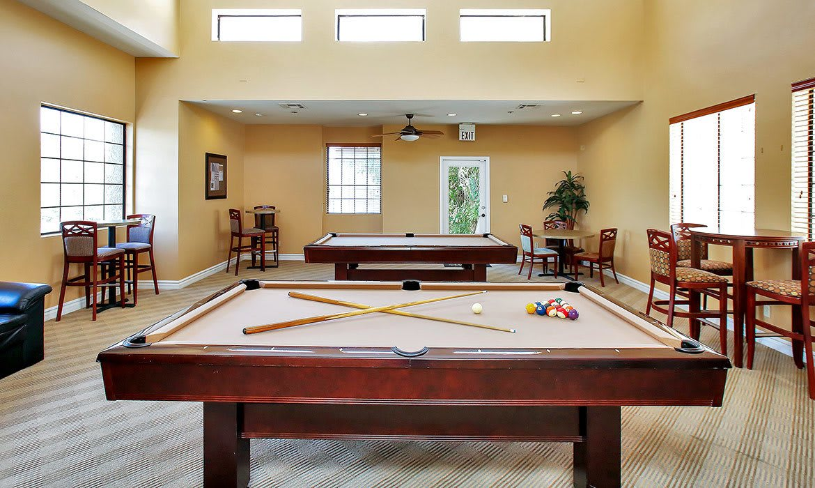 When it comes to working off the stress of the day, our fitness center at Pavilions at Pantano Apartment Homes has plenty of options to keep you happy and fit.