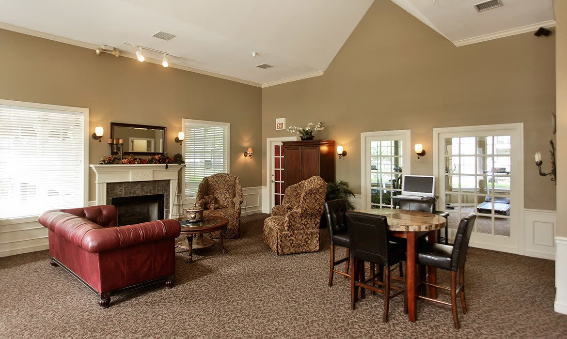 You'll love the spacious living areas in your new luxury apartment at Riverside Park Apartments.