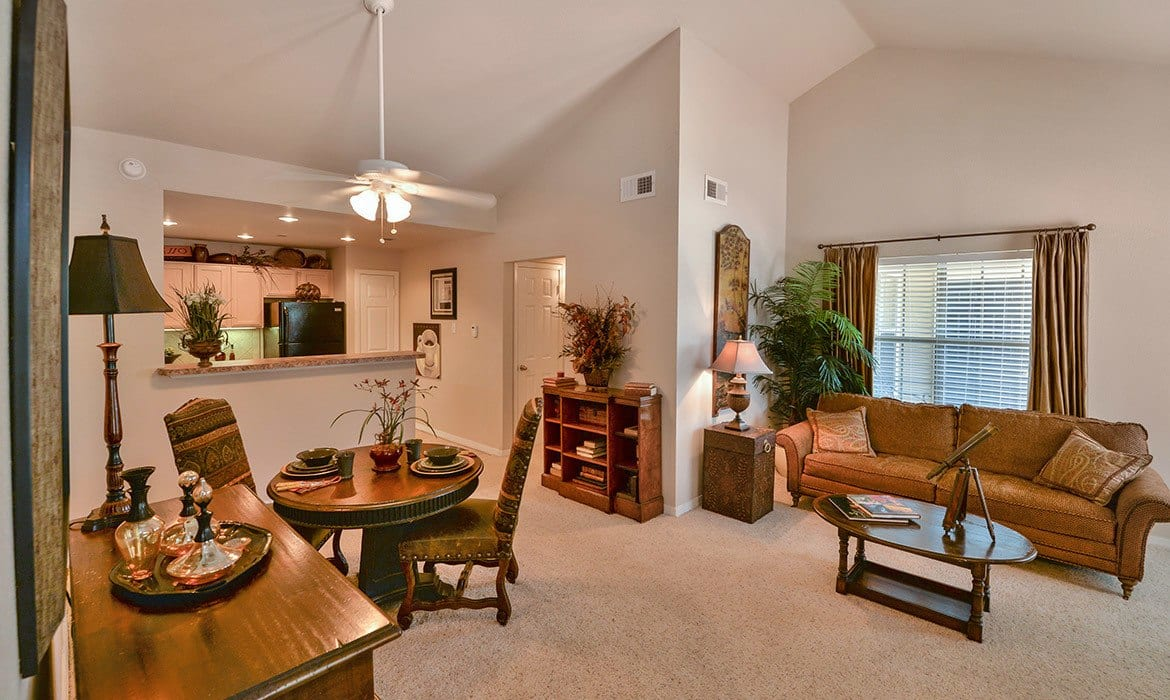 Make your living space your own at Saddle Brook Apartments; our spacious luxury apartments have plenty of room here in Dallas.