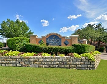 Learn more about Saxony at Chase Oaks; schedule your tour today!