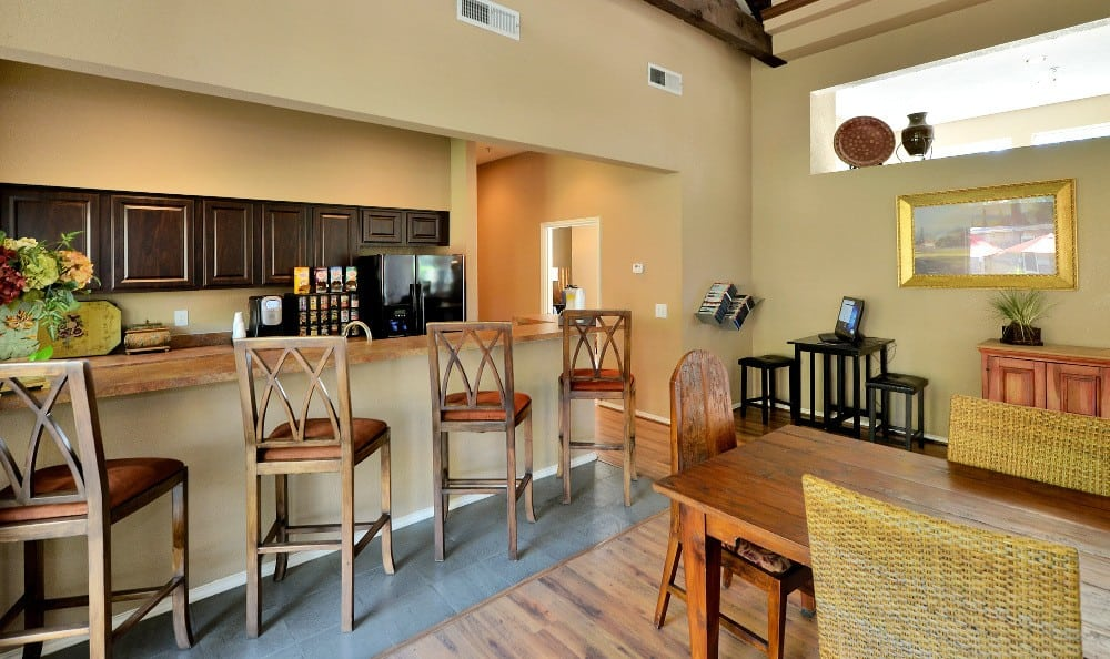 Most of our luxury apartments here at The Winsted at Valley Ranch come with breakfast nooks and more.