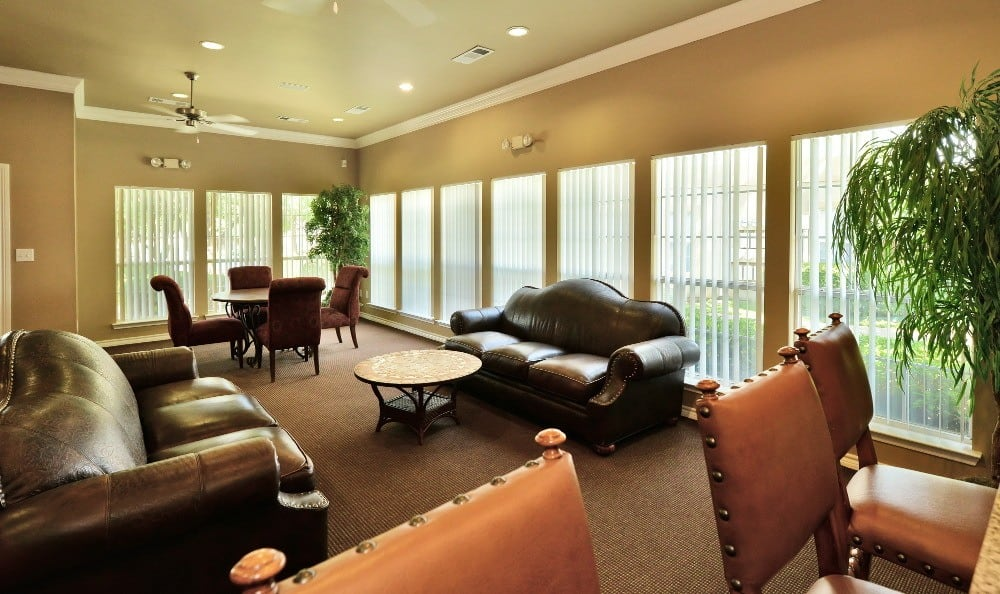 When it comes to entertaining large groups at Tuscany Square Apartments, reserve our clubhouse and you'll have plenty of room and all the conveniences you require.