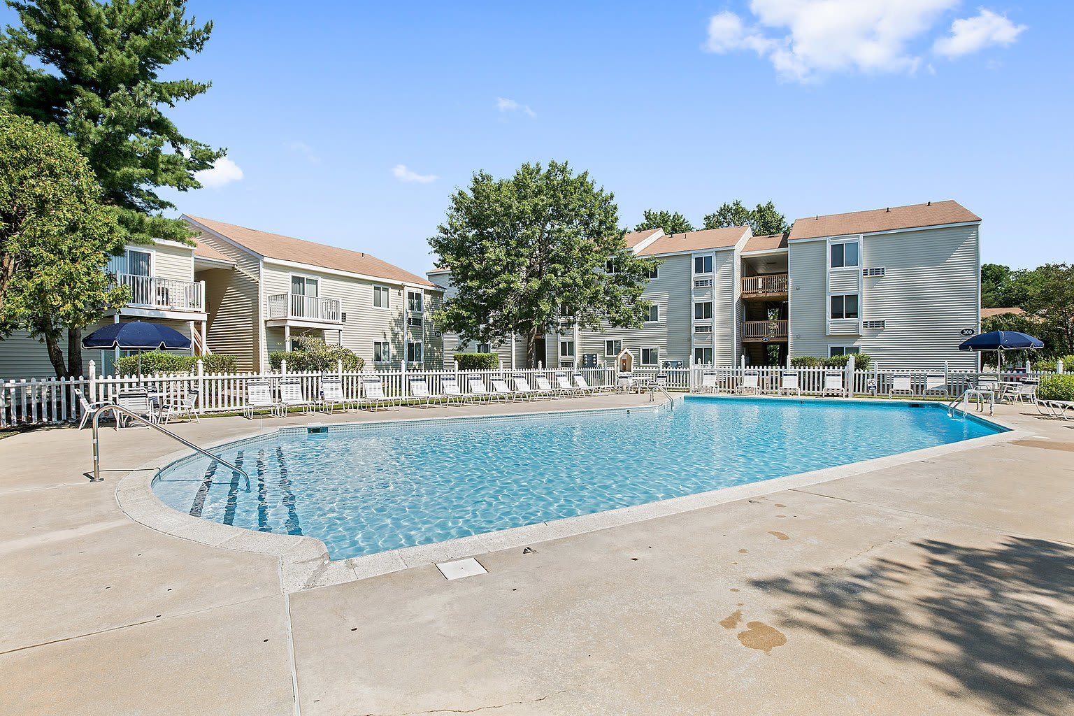 Pool At Our Apartments In Voorhees
