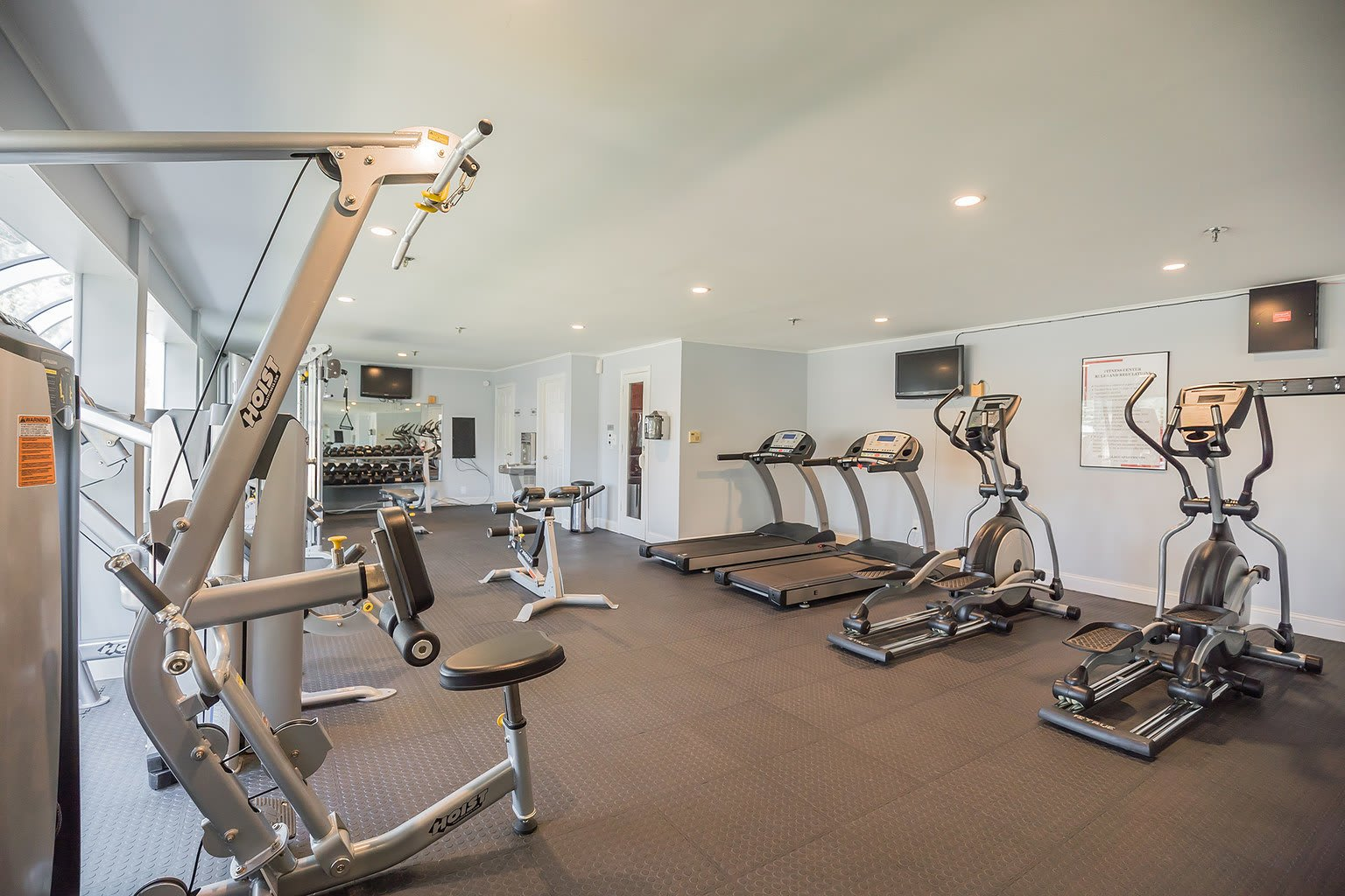 Fitness Center At Our Apartments In Voorhees