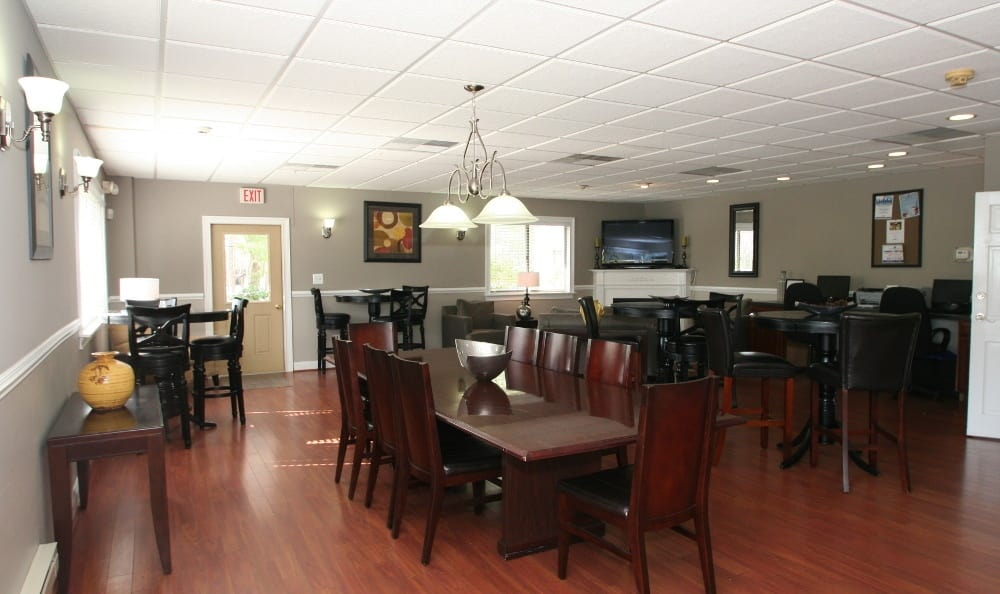 Clubhouse At Our Apartments In Voorhees