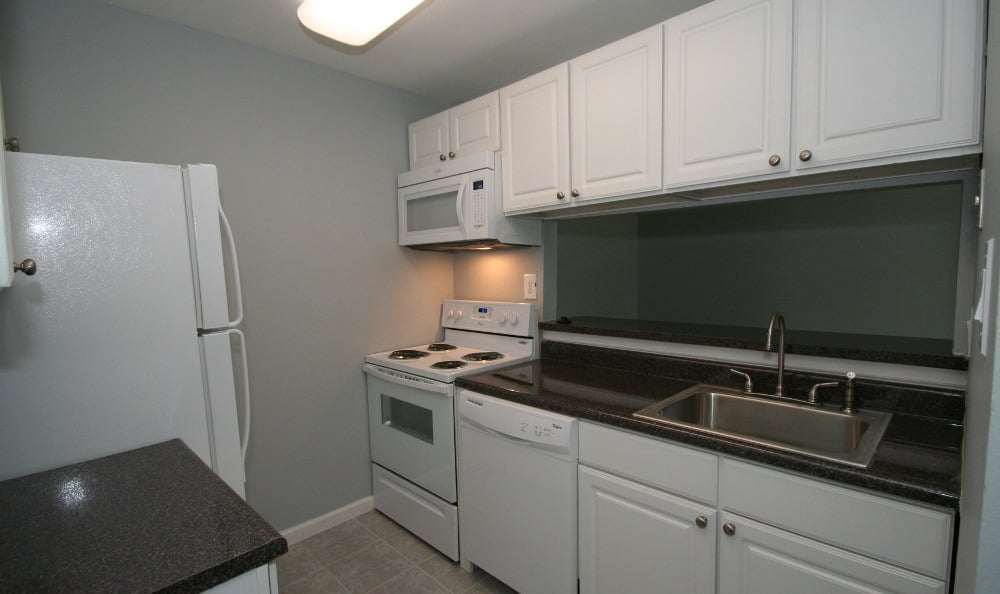 Kitchen At Our Apartments In Voorhees