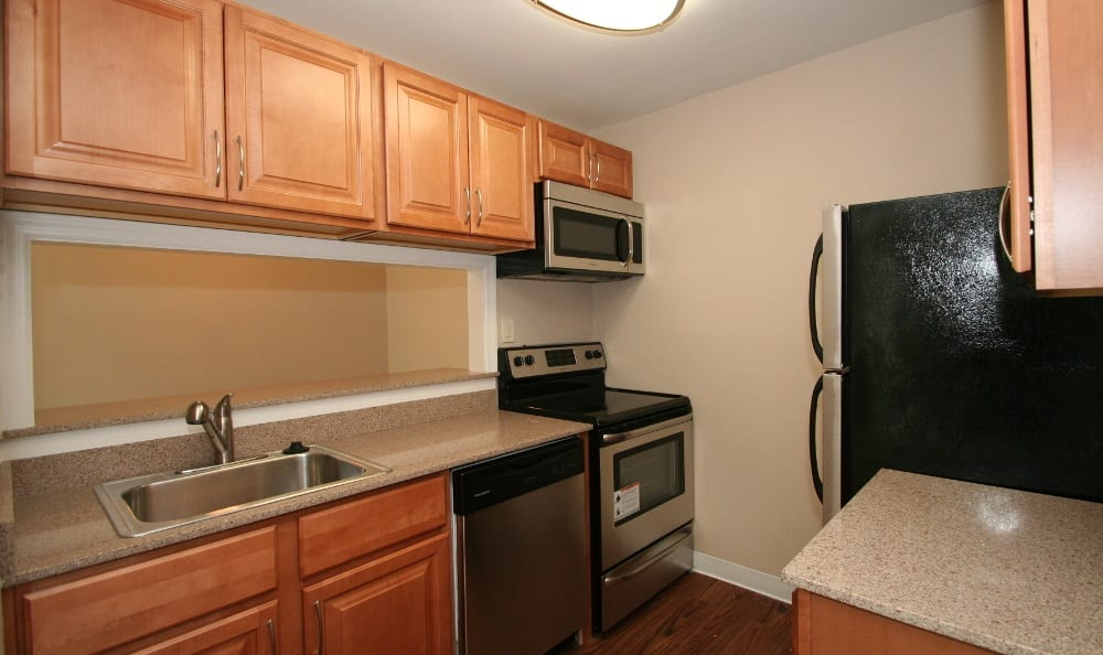 Modern Kitchen At Our Apartments In Voorhees