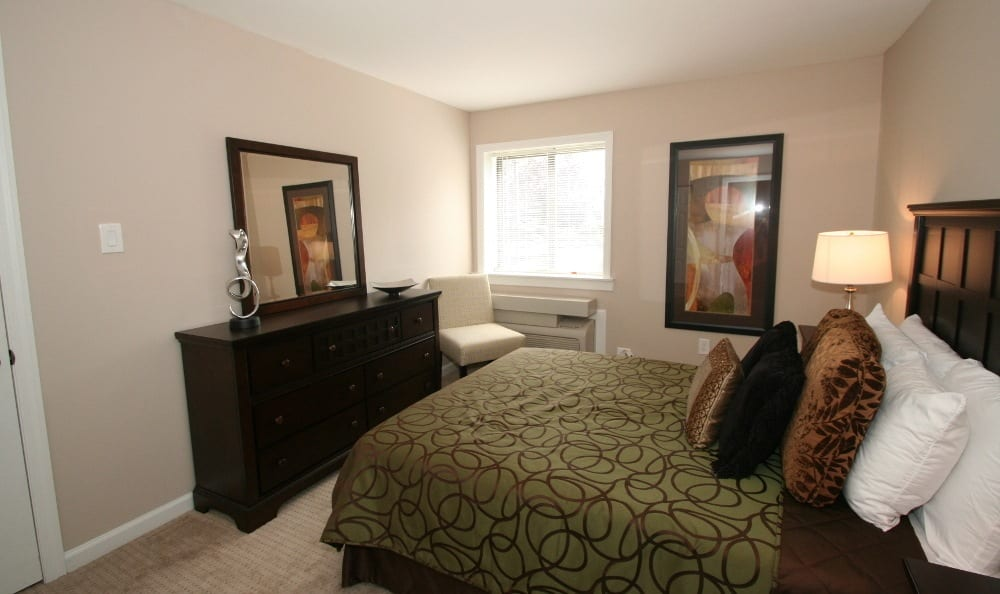 Spacious Bedroom At Our Apartments In Voorhees