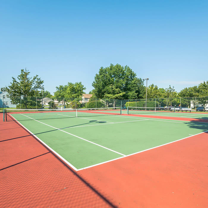 Tennis Courts at The Village at Voorhees