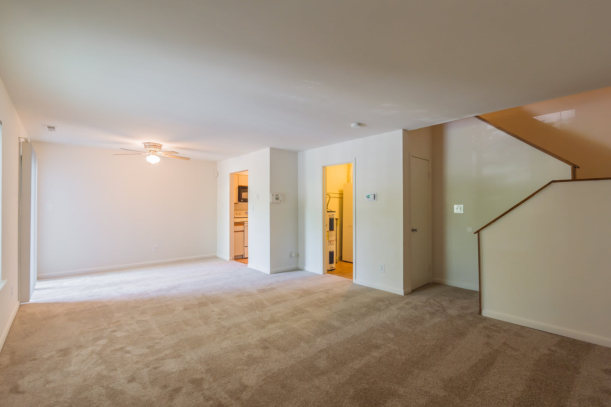 Spacious Common Area Of Our New Castle Apartments