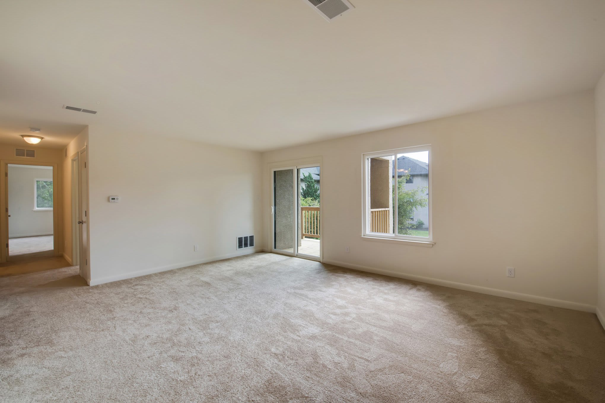 Living Room Of Our New Castle Apartments