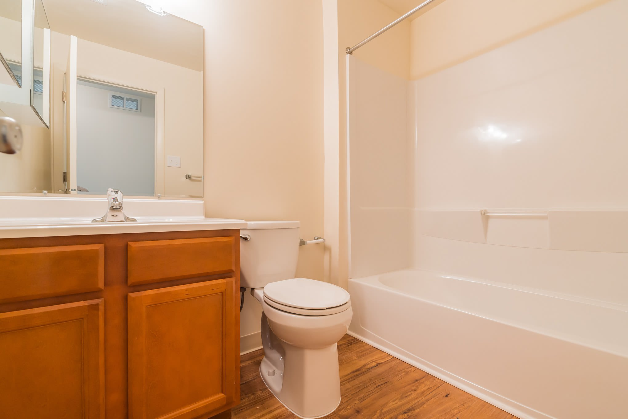 Bathroom Of Our New Castle Apartments