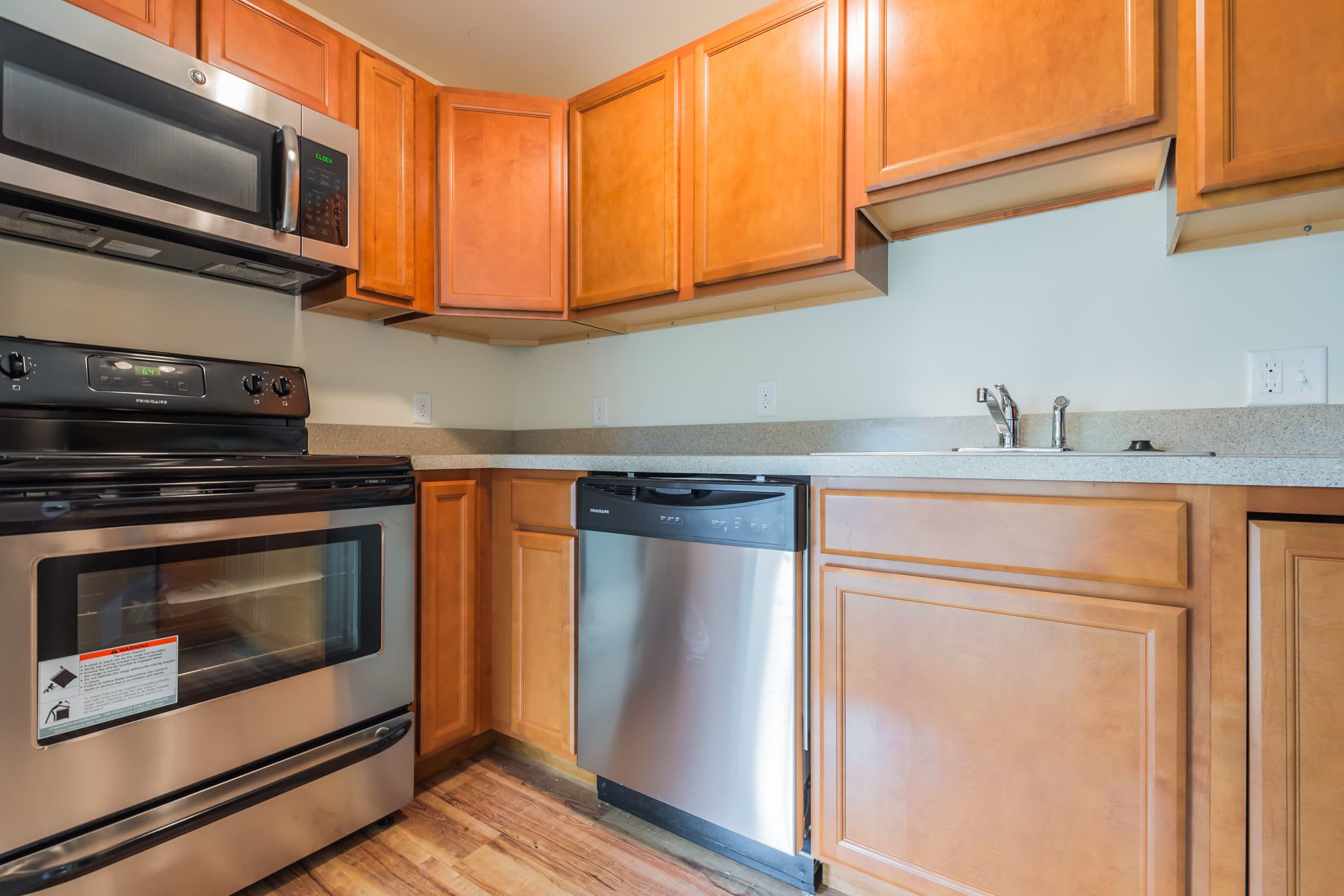 Kitchen Of Our New Castle Apartments