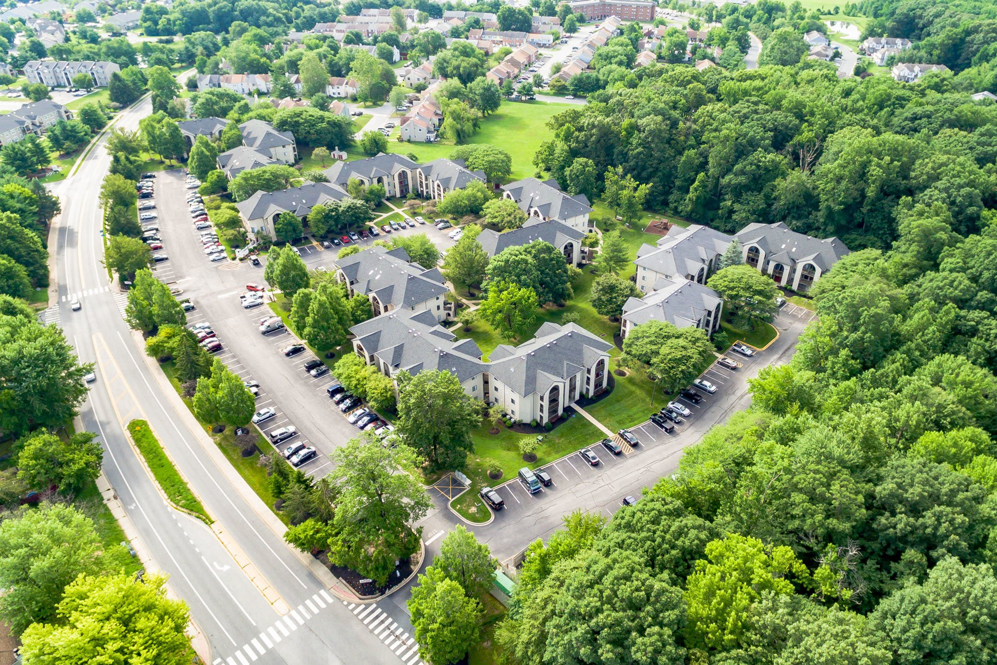 Aerial View of Our Appleby Apartments