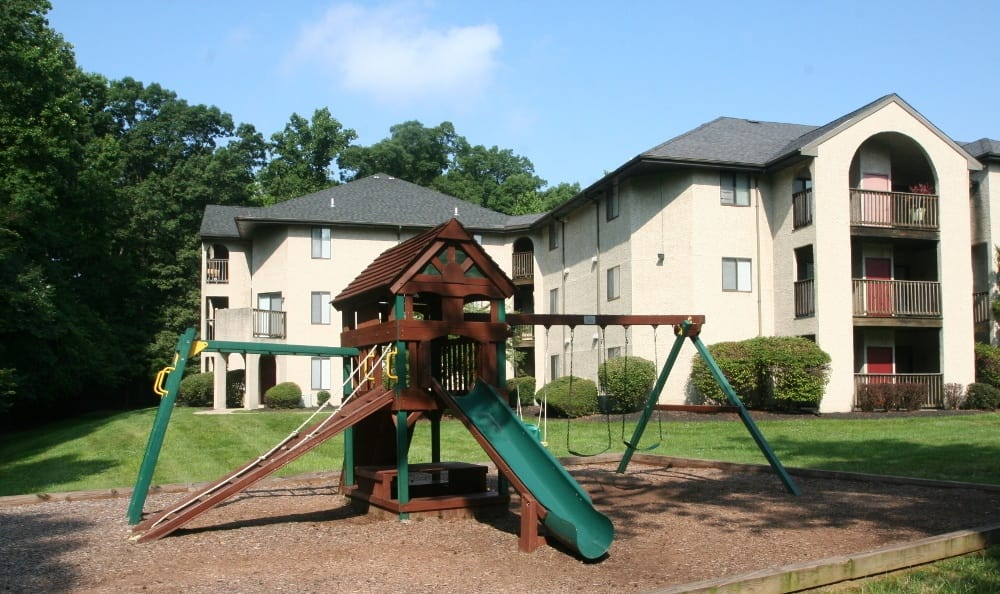 Kids Have Fun At Our New Castle Apartments