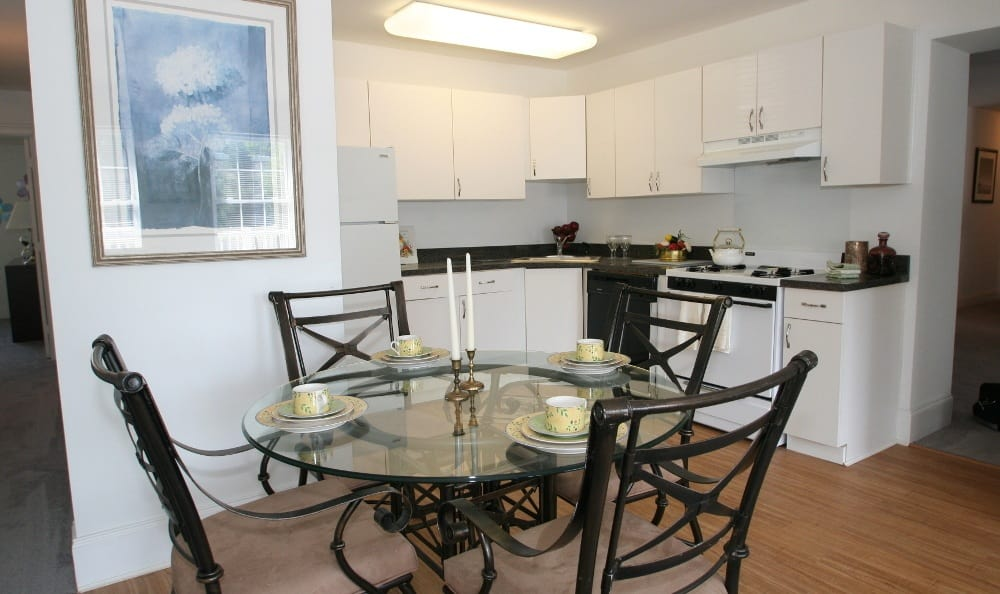 Dining Room At Apartments For Rent In Thorndale