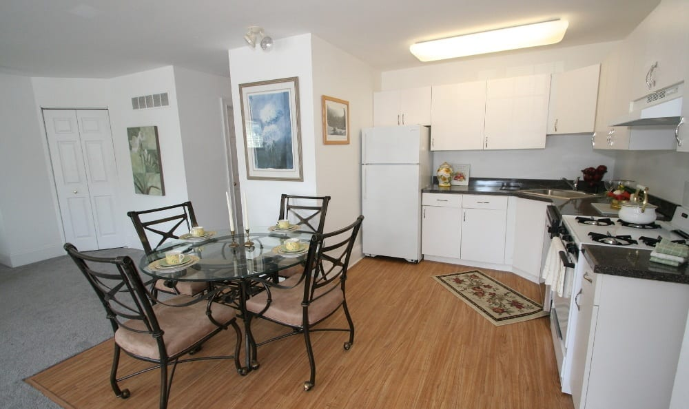 Kitchen At Apartments For Rent In Thorndale