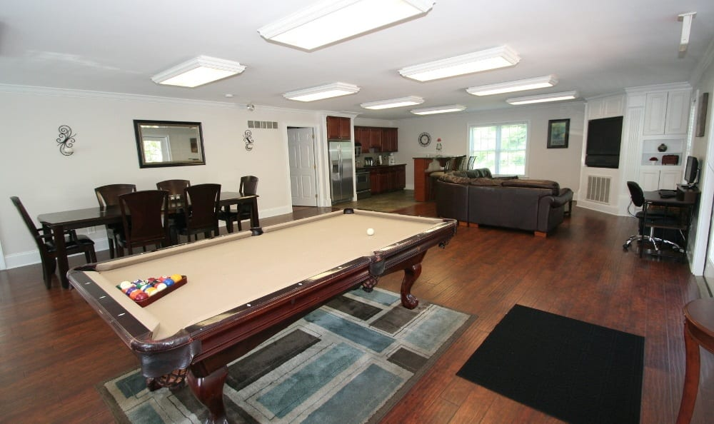 Pool Table At Apartments For Rent In Thorndale