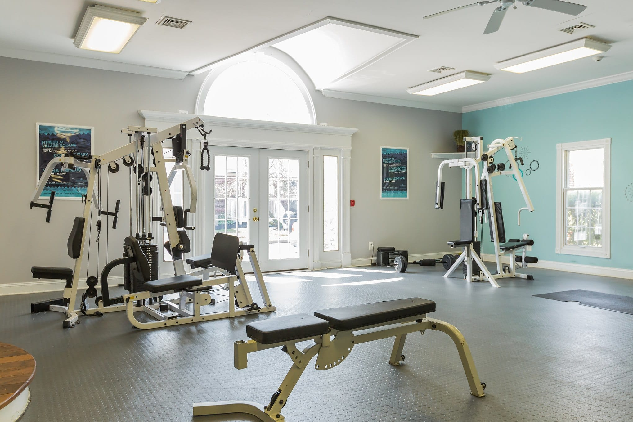 Gym Space at  Village Square Apartments in Mount Holly, NJ
