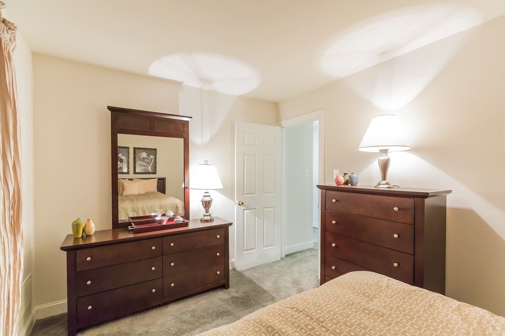 Vanity at Village Square Apartments in Mount Holly, NJ