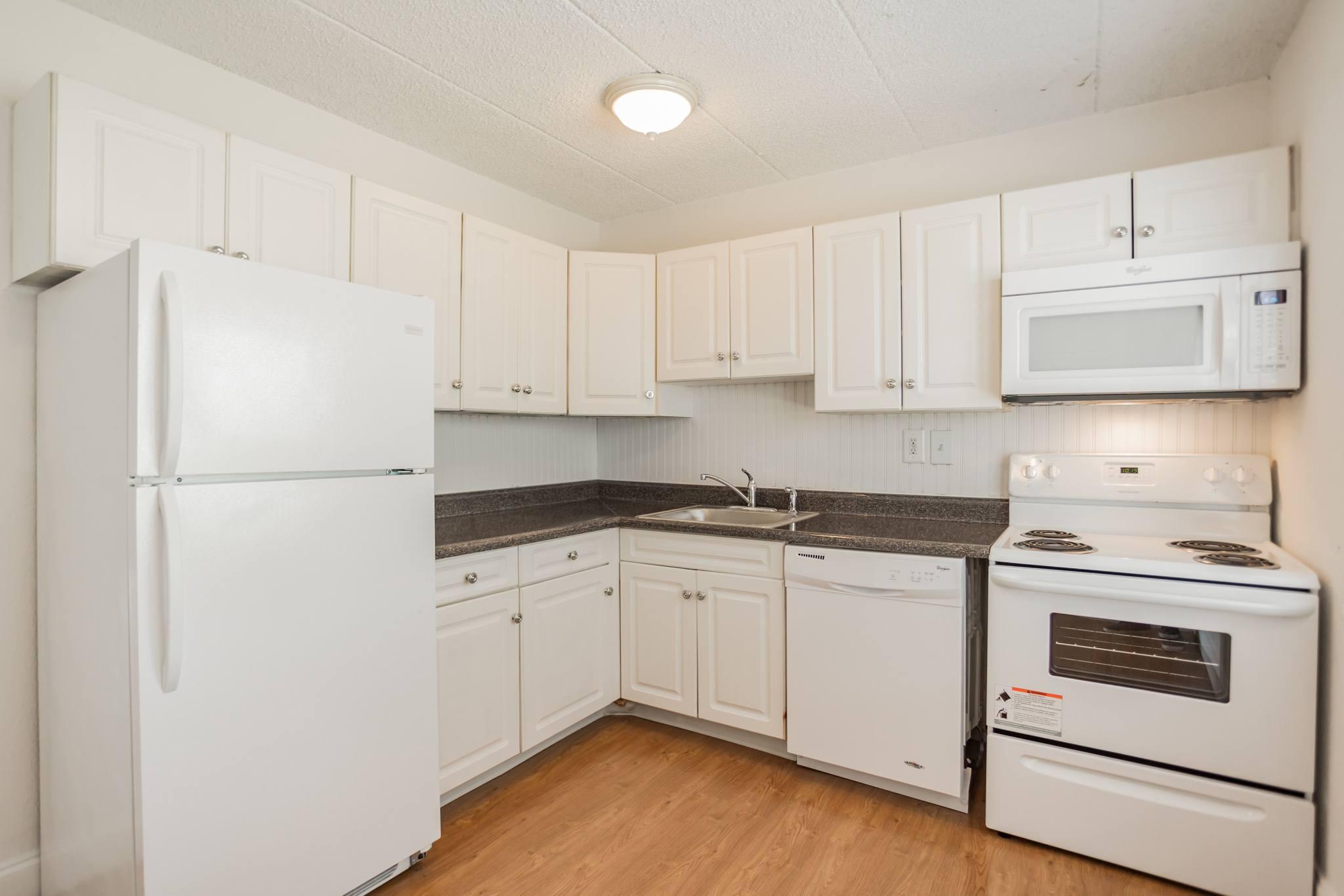Hardwood Floor Kitchen at Westgate Village Apartments  in Malvern, PA