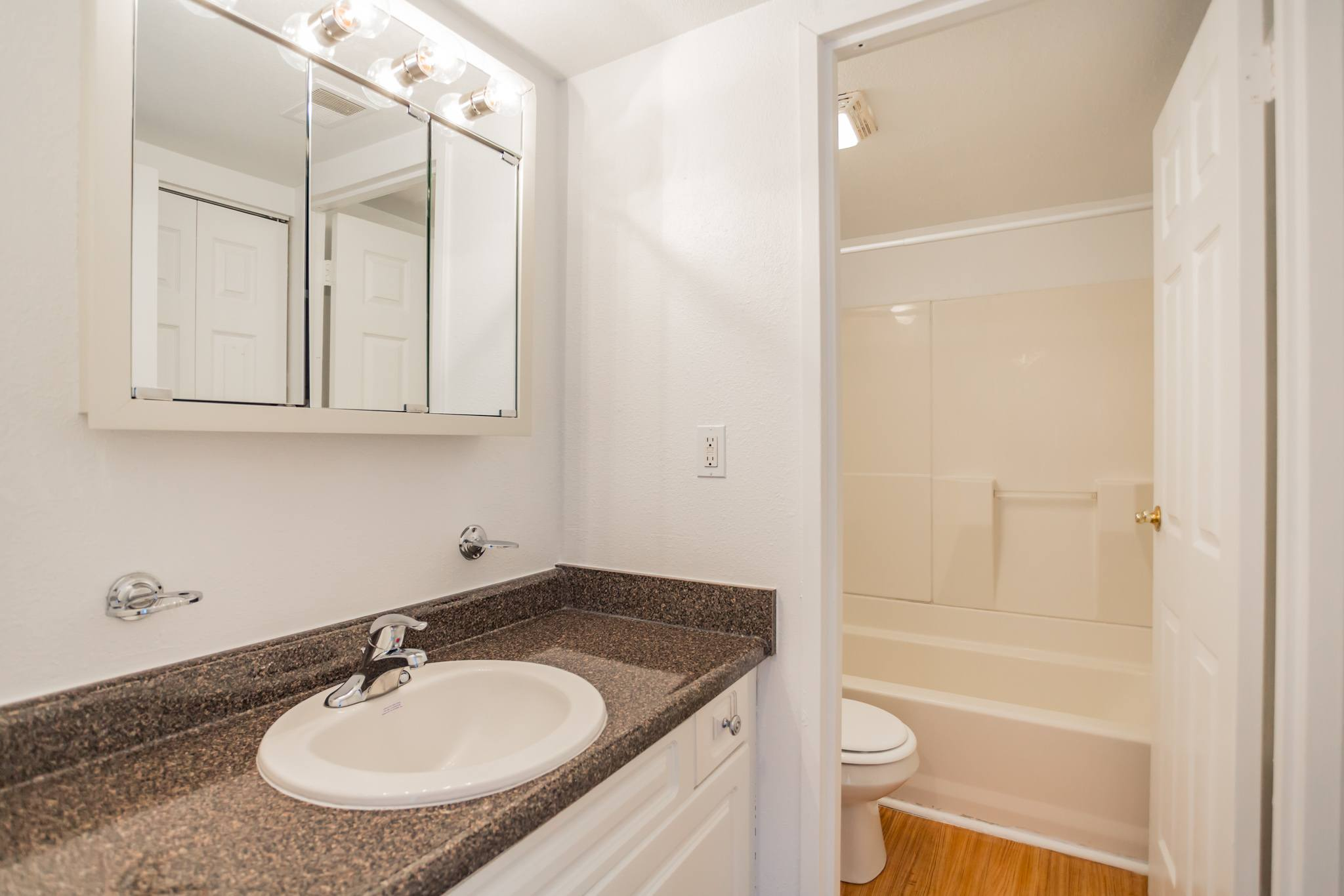 Full Bathroom at Westgate Village Apartments  in Malvern, PA
