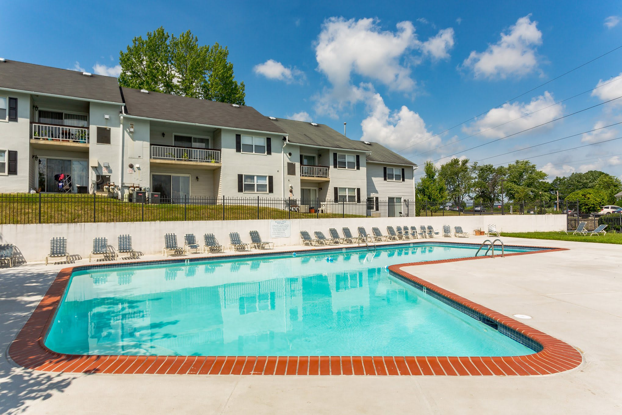 Poolside at Westgate Village Apartments  in Malvern, PA