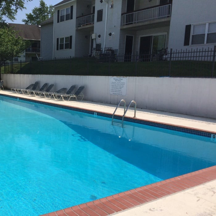 Pool at Westgate Village Apartments in Malvern, PA