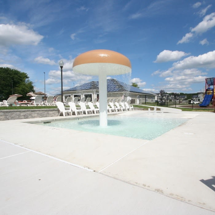 Pool at United Communities