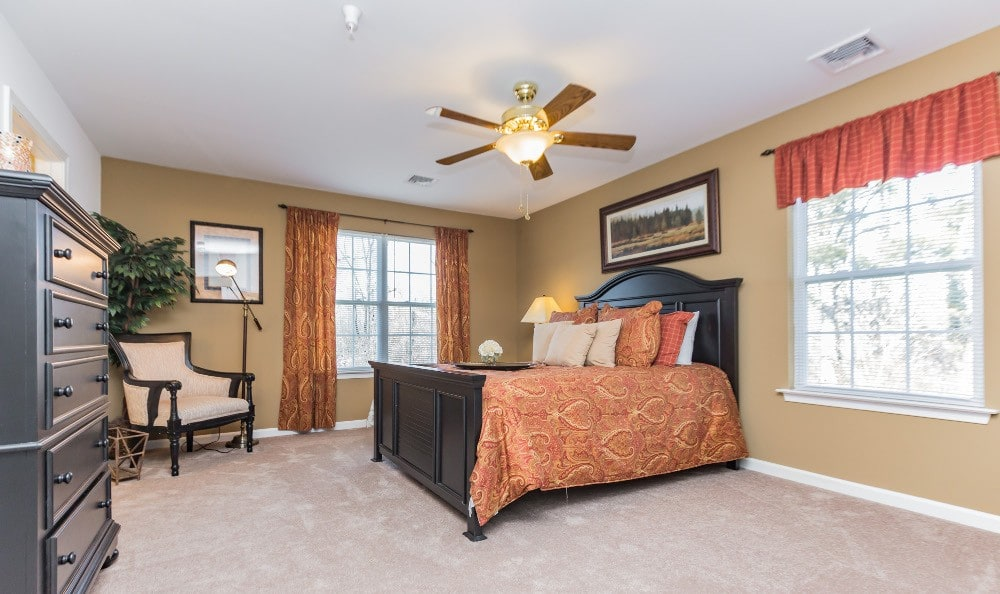 Bedroom At Apartments In Joint Base
