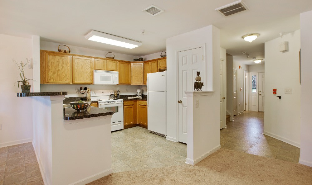 Kitchen At Apartments In Joint Base